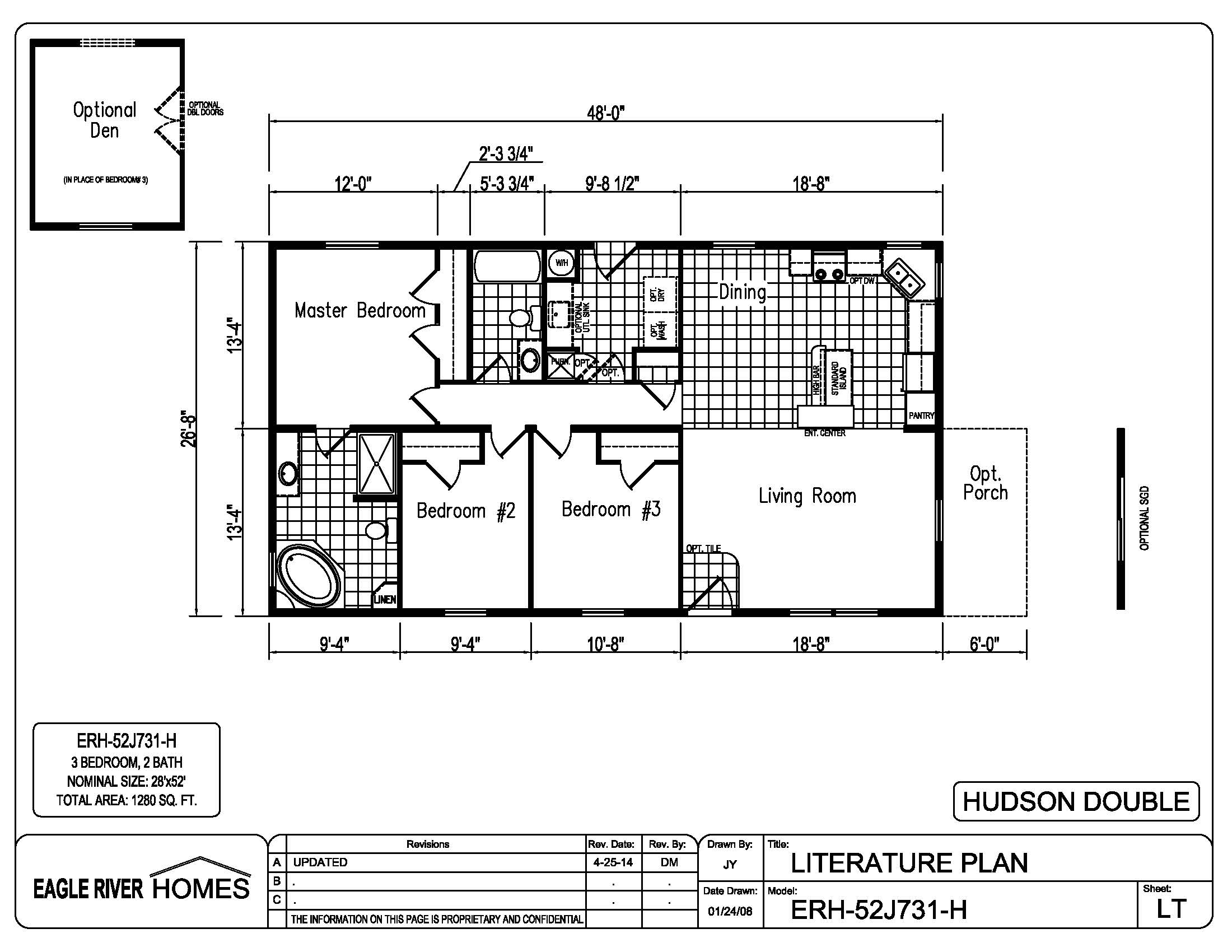 Eagle River Homes' Floor Plan Chooser on