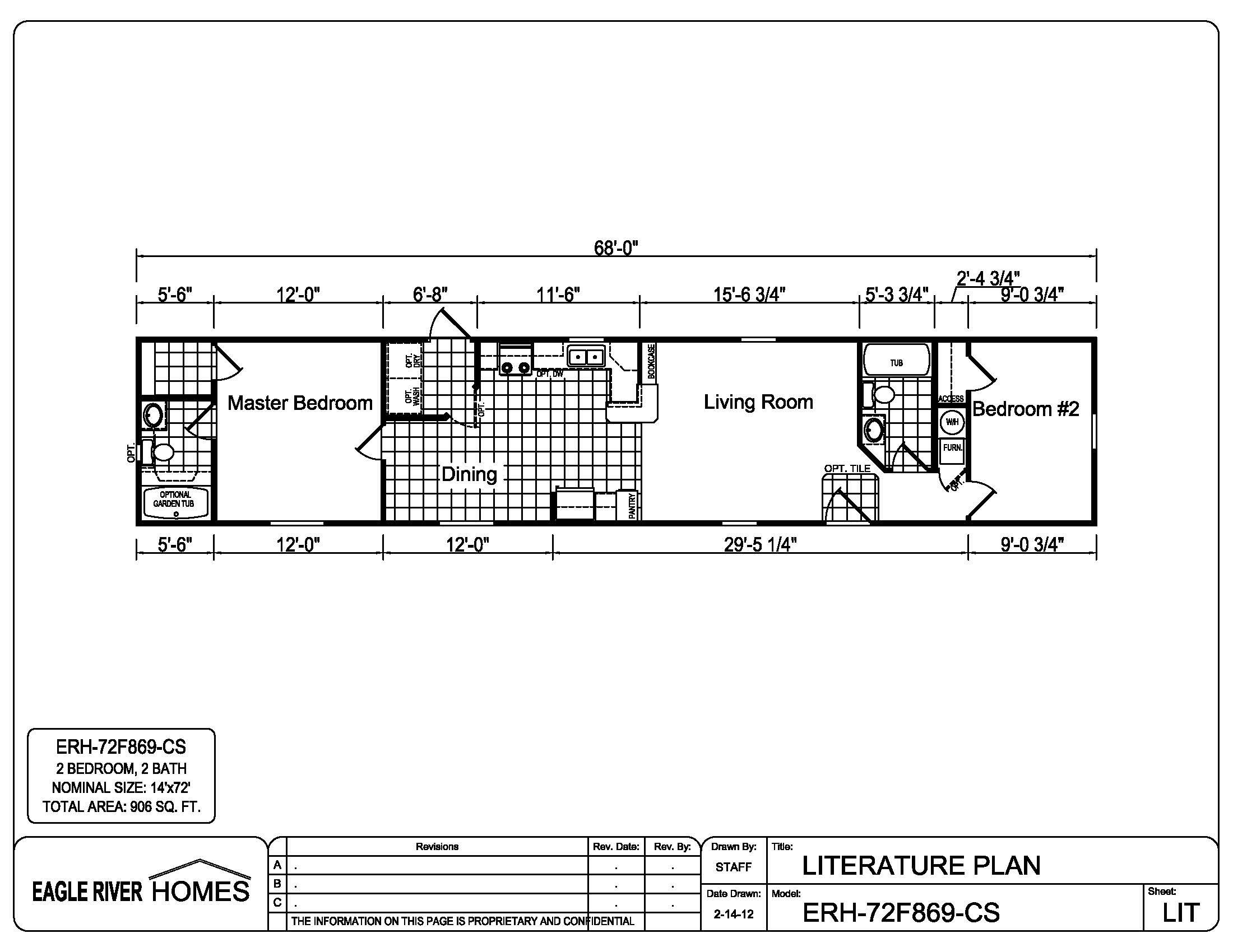 White eagle homes floor plans for 16 x 50 floor plans